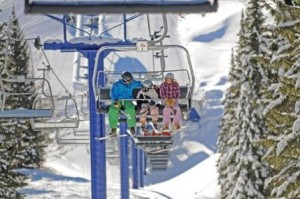 Family on Chairlift compressed