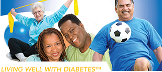 Living Well With Diabetes Workbook Cover