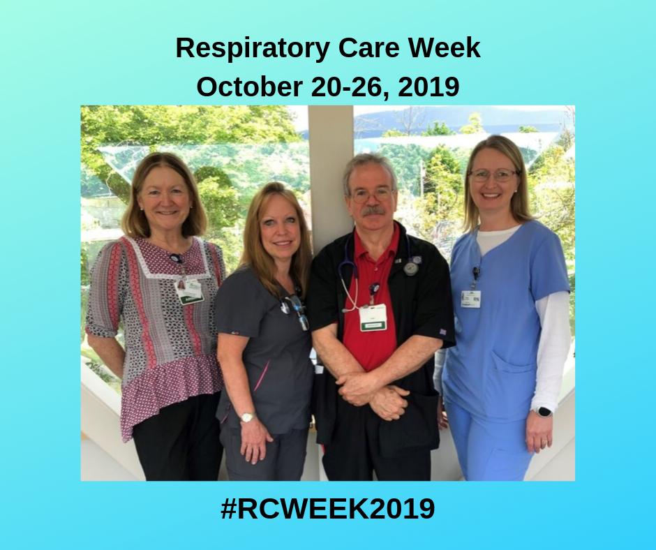 Respiratory Care Week _ Oct. 20-26, 2019