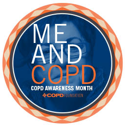 Me and COPD Button