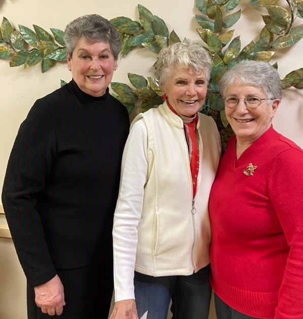 Margo Johnson Shirley Dome Sylvia Humes Volunteers of the Year 2019 Cropped